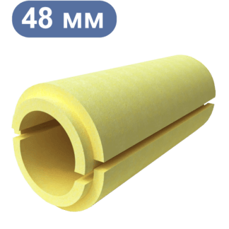 Скорлупа ППУ диаметром 48 мм